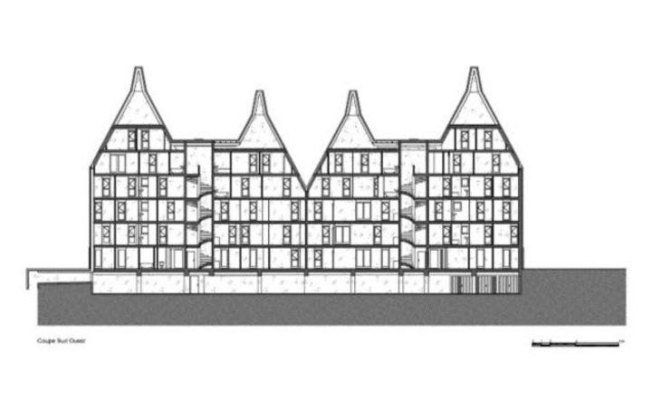 Zoom sur limage équerre dargent 2010 mention spéciale nicolas michelin et associés immeubles à