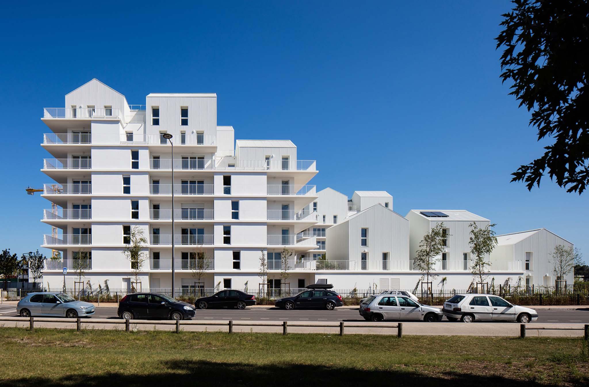 96 logements ginko premier coquartier de bordeaux for Bordeaux logement