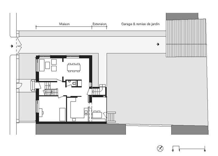 Premi re uvre 2013 nomin lo c picquet for Extension maison plan