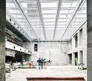 Le 37 Sainte-Croix Atrium en cours de chantier DATA Architectes