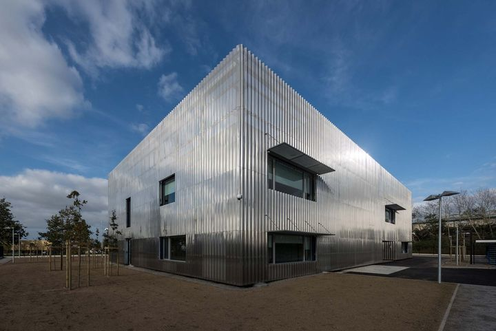 Topos architecture centre industriel de la r alit for Architecte loire atlantique
