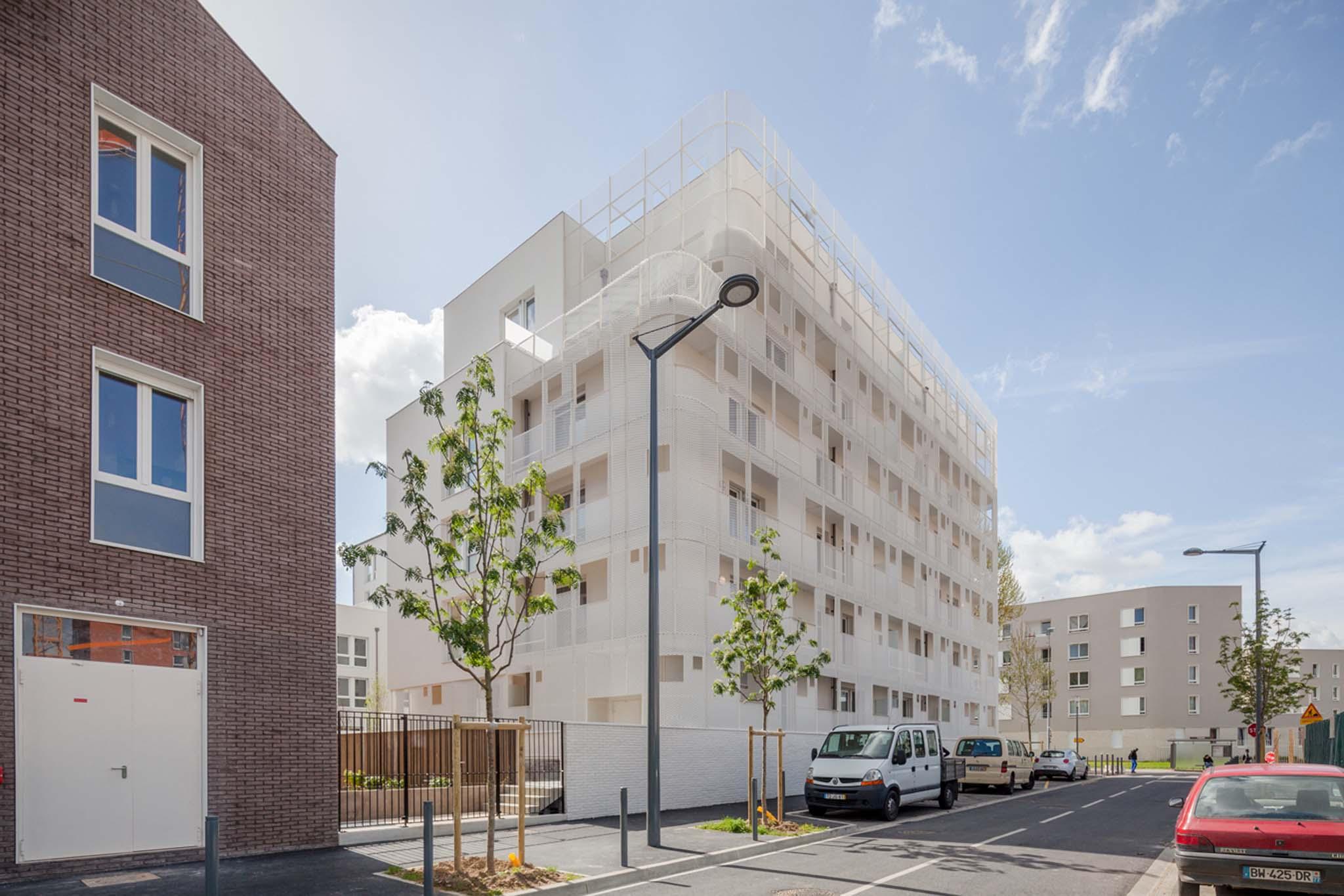 68 logements sociaux et foyer d accueil pour handicap s par margot duclot. Black Bedroom Furniture Sets. Home Design Ideas