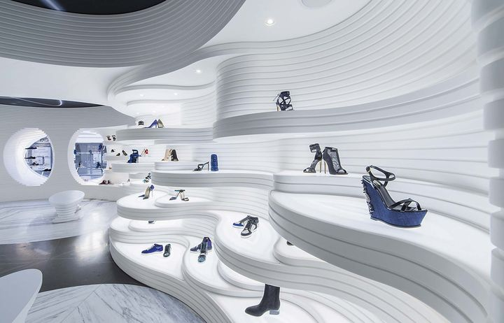 MVSA Architects - boutique de chaussures - Amsterdam