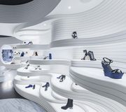 Boutique de chaussures, MVSA Architects, Amsterdam