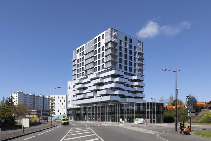 Hondelatte Laporte - 86 logements, commerce, parking - Nantes