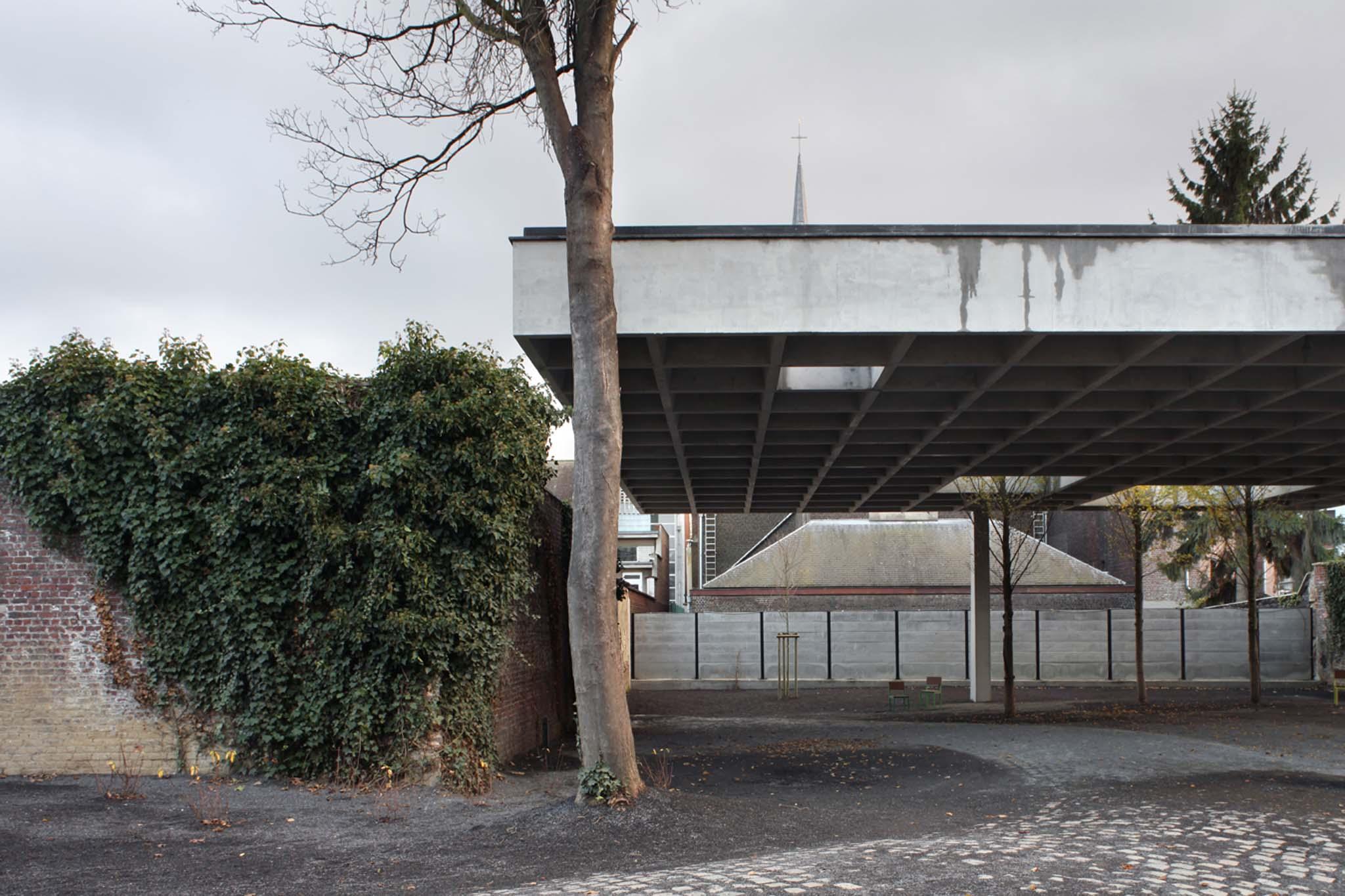 Architecture en wallonie 2 4 le parc des quatre vents for Jardin quatre vents
