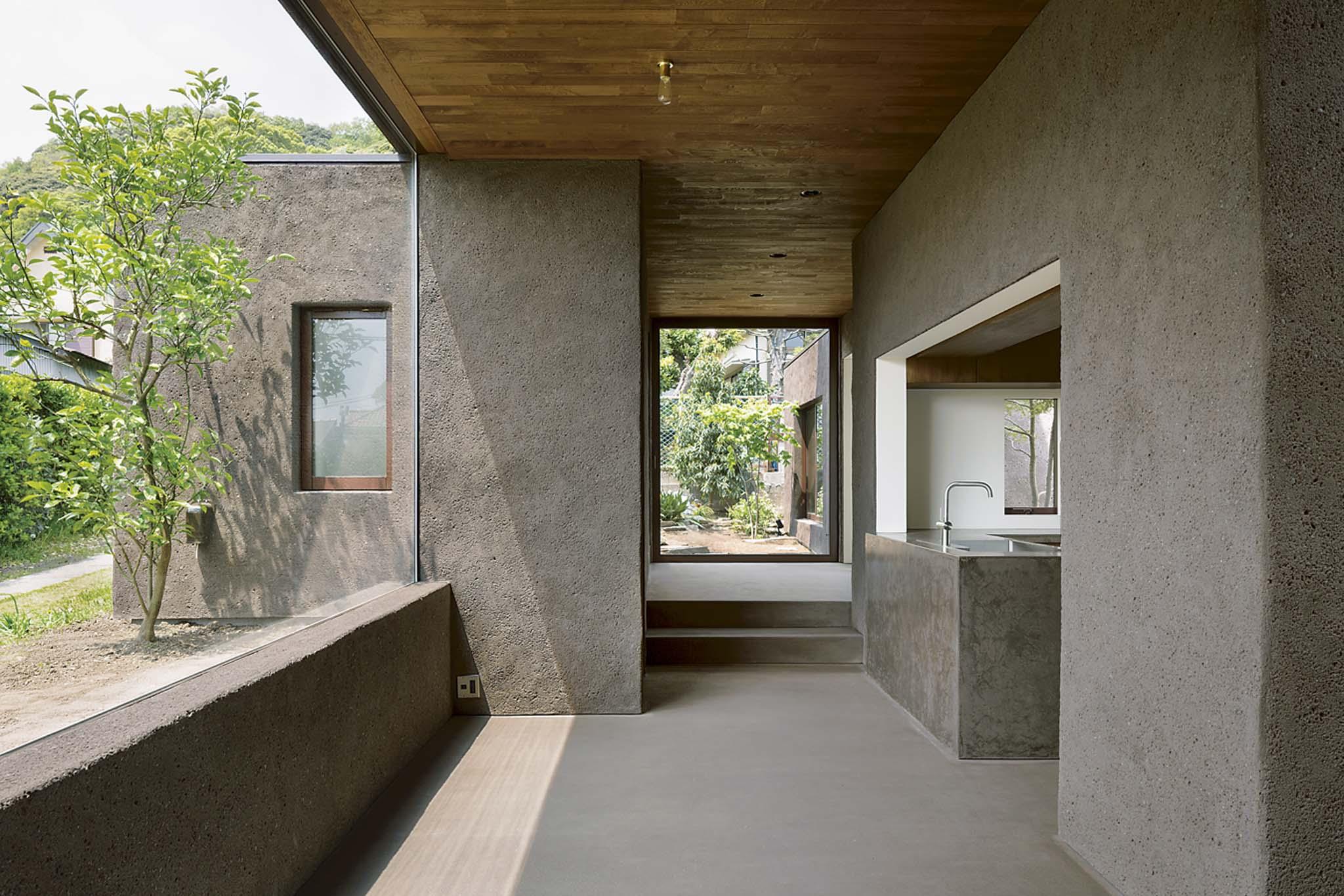 R sidence tokyo par dgt architects afin de tirer parti - La residence kitchel par boora architects ...