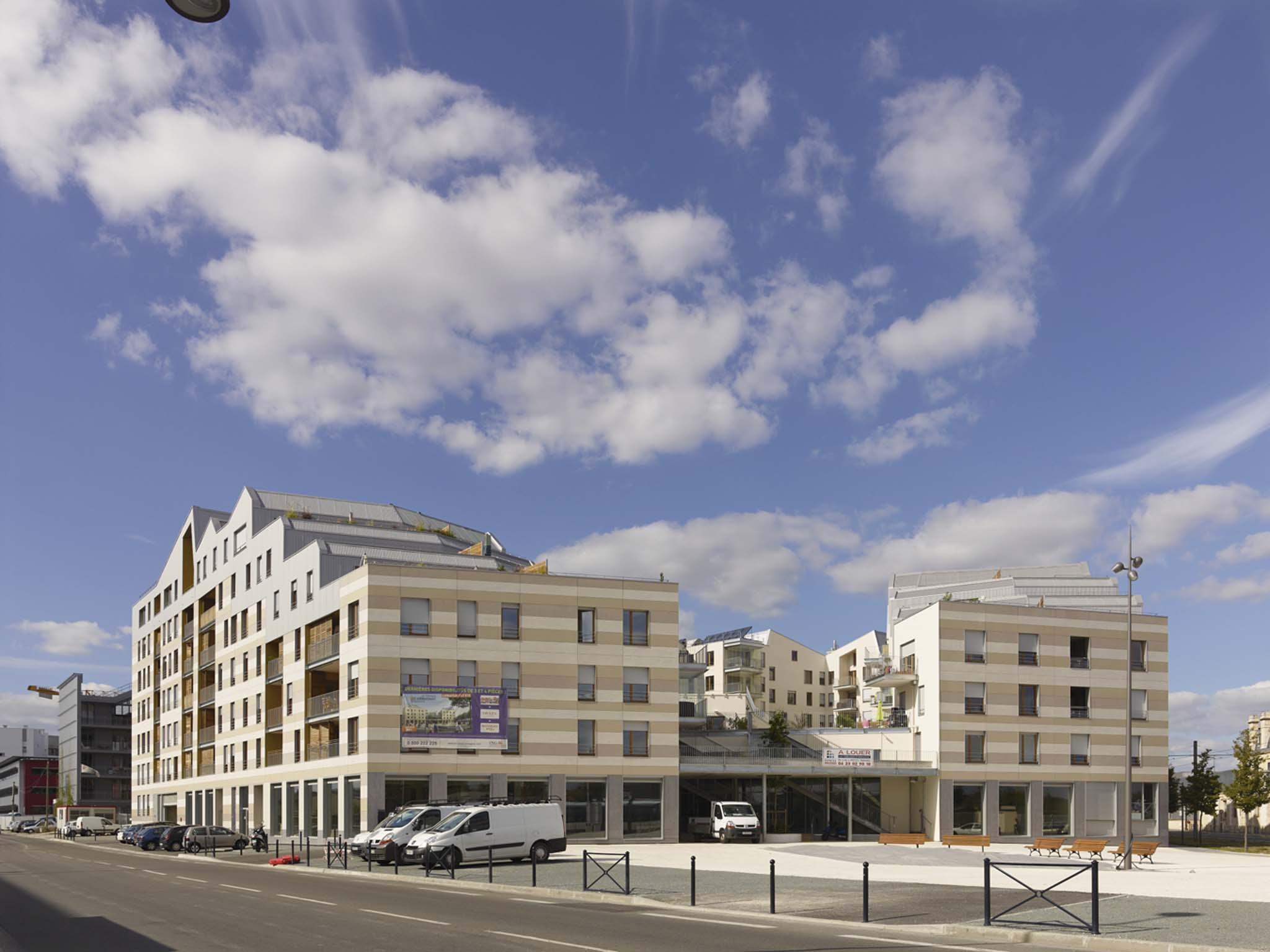 Anma 161 logements quipements publics for Logement agence