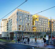 Programme mixte logement cole commerces issy les moulineaux par badia berg - Francois brugel architecte ...