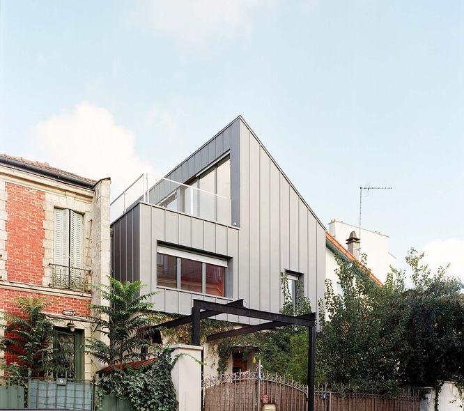 Bauchet de la bouvrie architectes sur l vation d 39 une for Edicule toiture terrasse