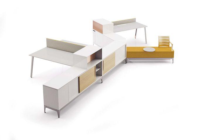 bureaux reconfigurables bureau manufacture du design. Black Bedroom Furniture Sets. Home Design Ideas