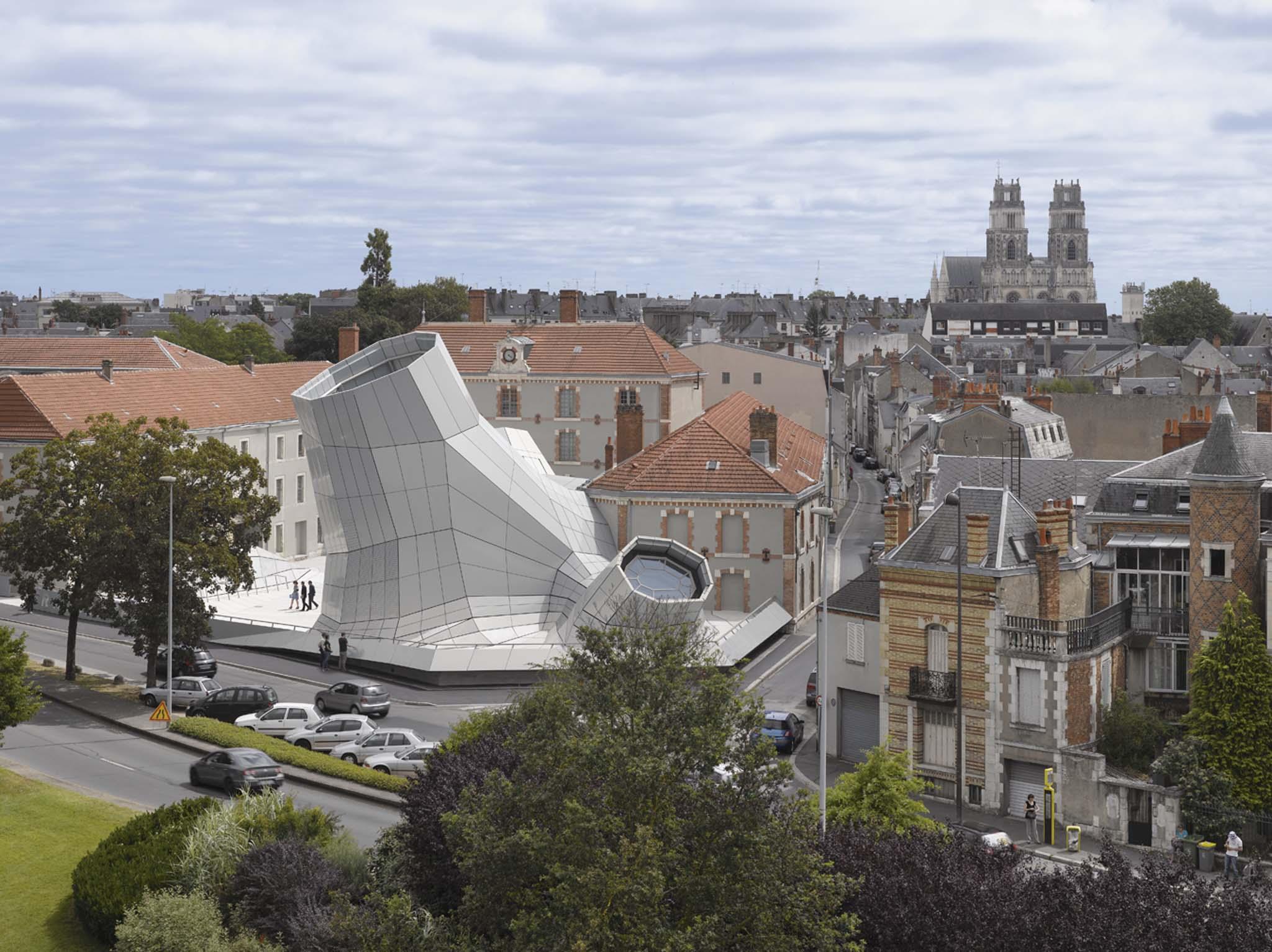 Maître D Oeuvre Orléans Équerre d'argent 2013 / nominÉ - jakob+macfarlane - frac centre
