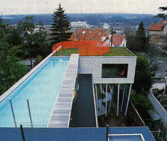 Villa dall 39 ava rem koolhaas saint cloud querre d for Piscine saint cloud