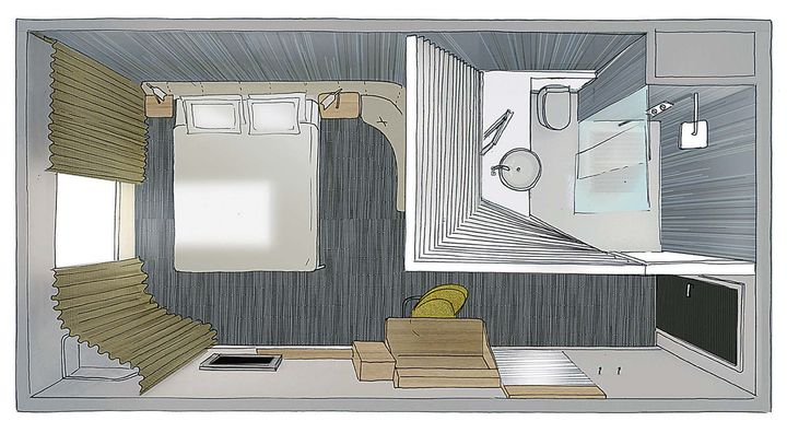 Studio Norguet Design Okko H 212 Tel