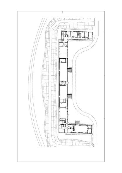 maison des tudiants de marne la vall e belus h nocq architectes plan. Black Bedroom Furniture Sets. Home Design Ideas