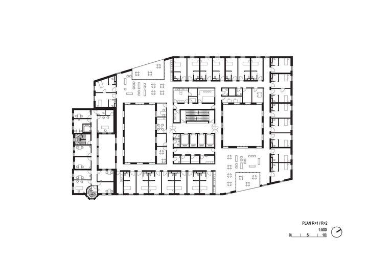 ehpad et cr che atelier z ndel cristea paris xiv. Black Bedroom Furniture Sets. Home Design Ideas