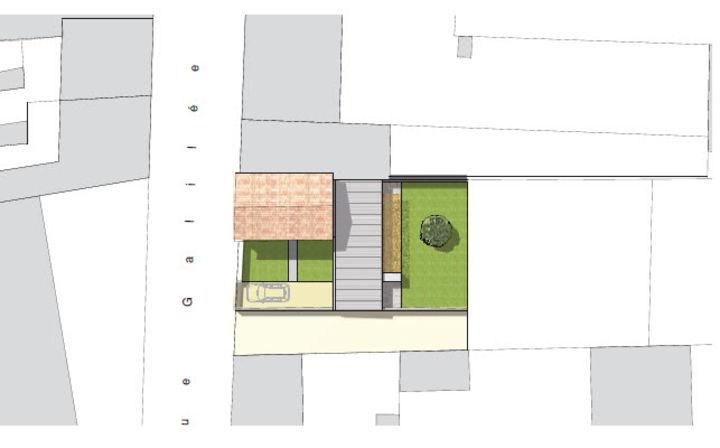 plan de masse d une maison - plan de masse extension d une maison benoit chailleux