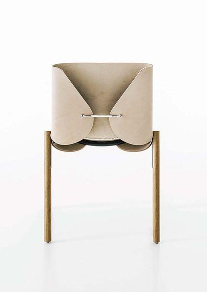 Chaise Couture Design Bartoli Pour Kristalia