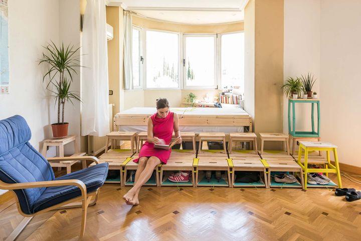 Enorme Studio - Aménagement d\'un studio dans un salon - Madrid
