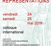 Colloque international L'architecture en représentations - 24 et 25 mai 2019