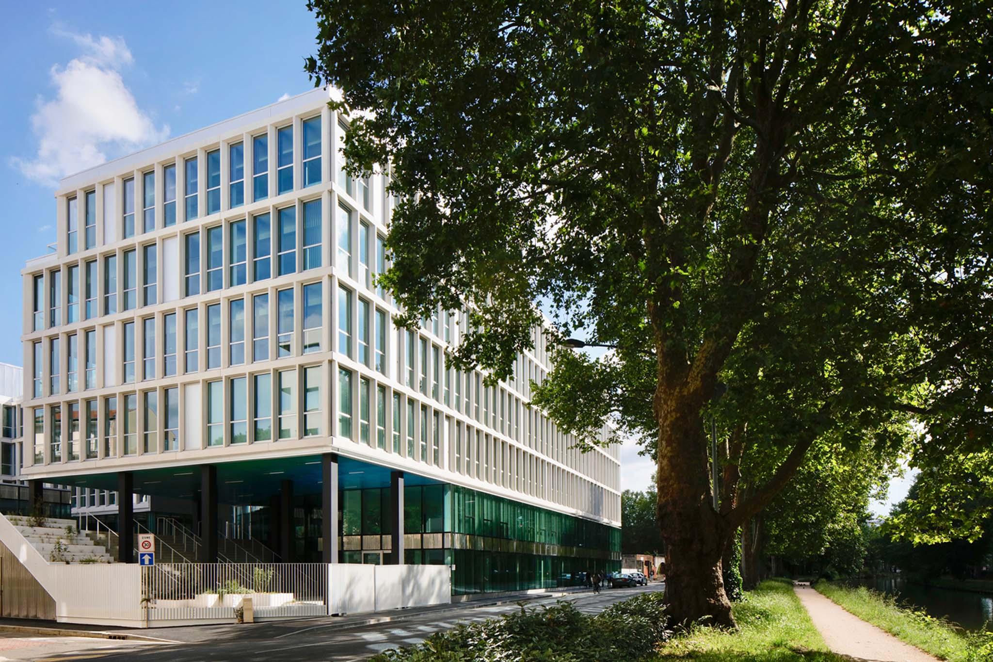Bureau immeuble architecture immeuble de bureaux bordeaux mcvd architectes realisation - Bureau de change toulouse ...