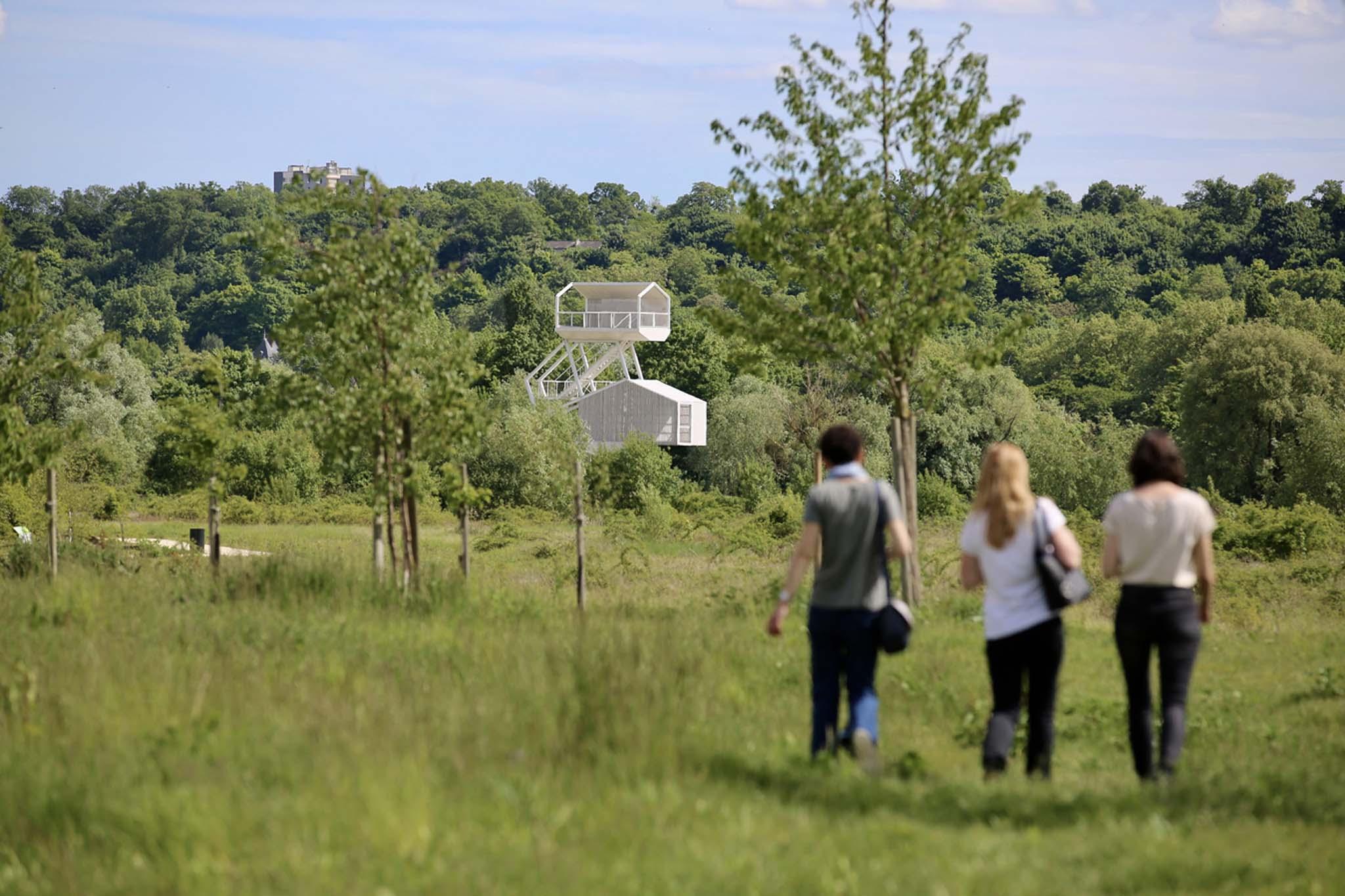Le parc du peuple de l 39 herbe inaugur entre seine et terre for Parc des yvelines