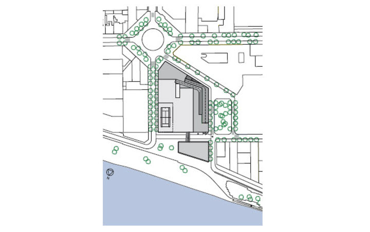 Plan de masse de l 39 op ration cole d 39 architecture anne for Plan masse architecture