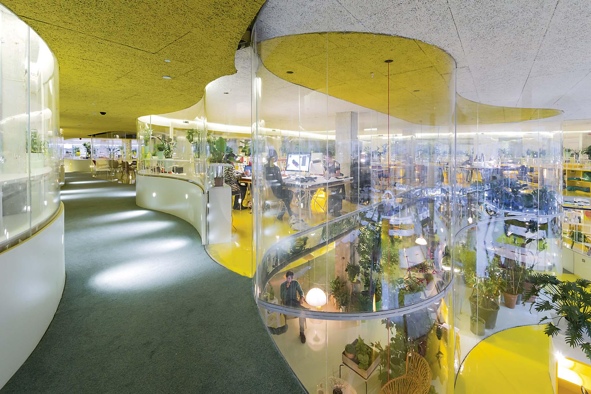 Selgascano espaces de coworking second home londres for Espace 3 architecture