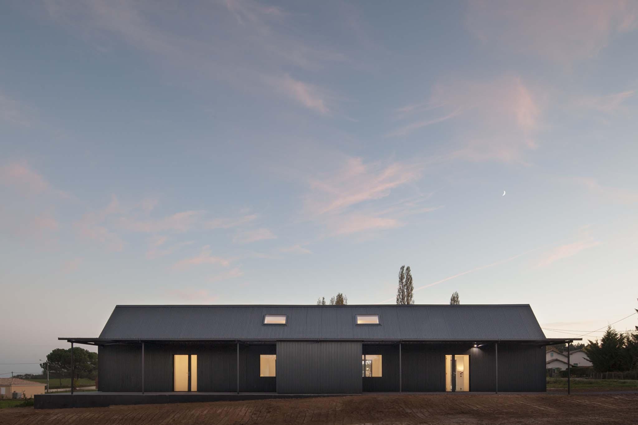 Maison individuelle laurence ch ret architecte saint for Maison individuelle architecte