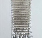 Christian Kerez, Highrise in Zhengzhou 2, China, 2013, Maquette conceptuelle