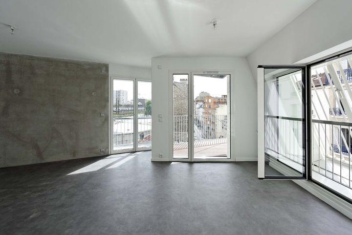 Dietmar feichtinger 10 logements sociaux paris - Francois brugel architecte ...