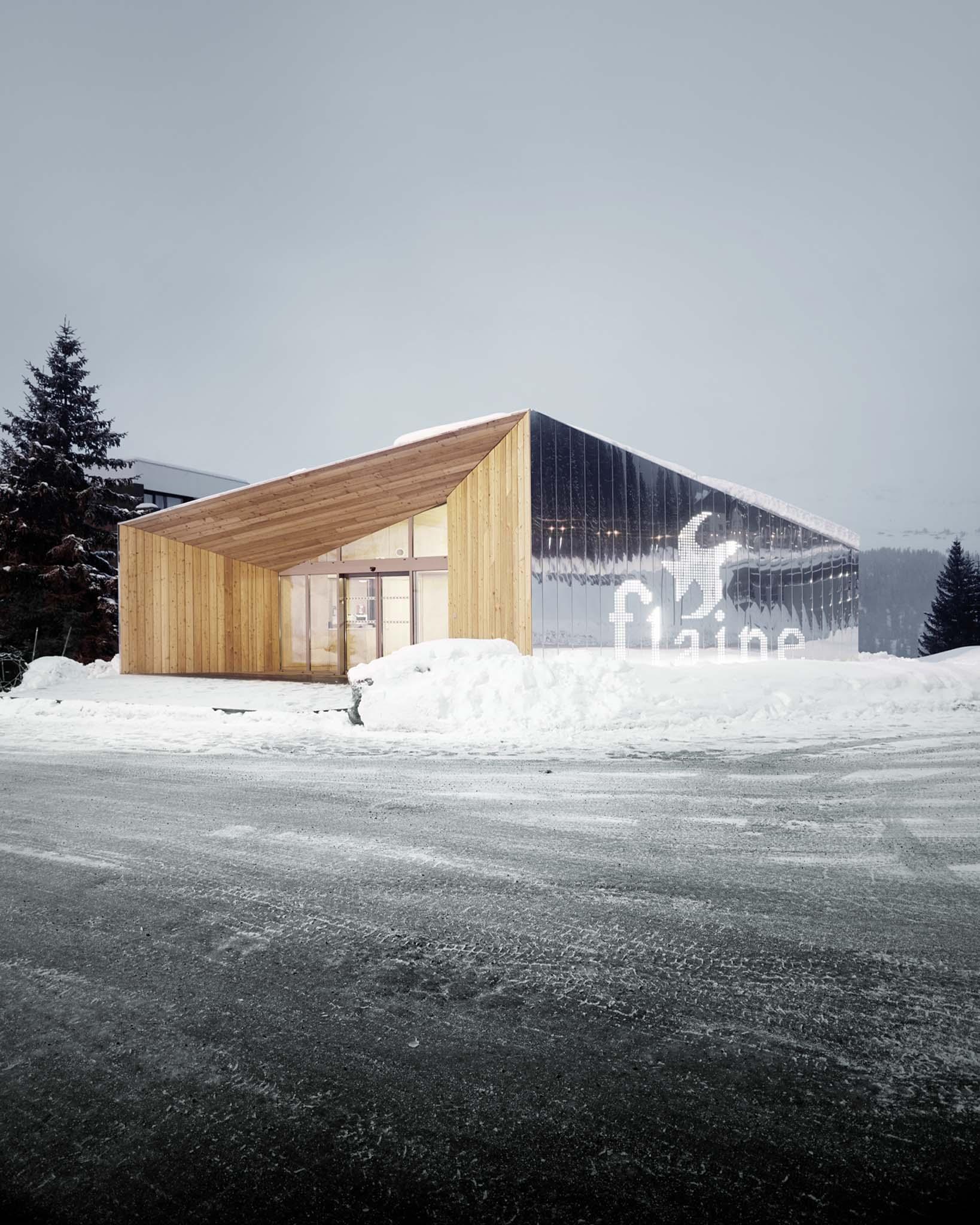 pavillon d 39 accueil r architecture nomin pour le prix de la premi re uvre 2014. Black Bedroom Furniture Sets. Home Design Ideas
