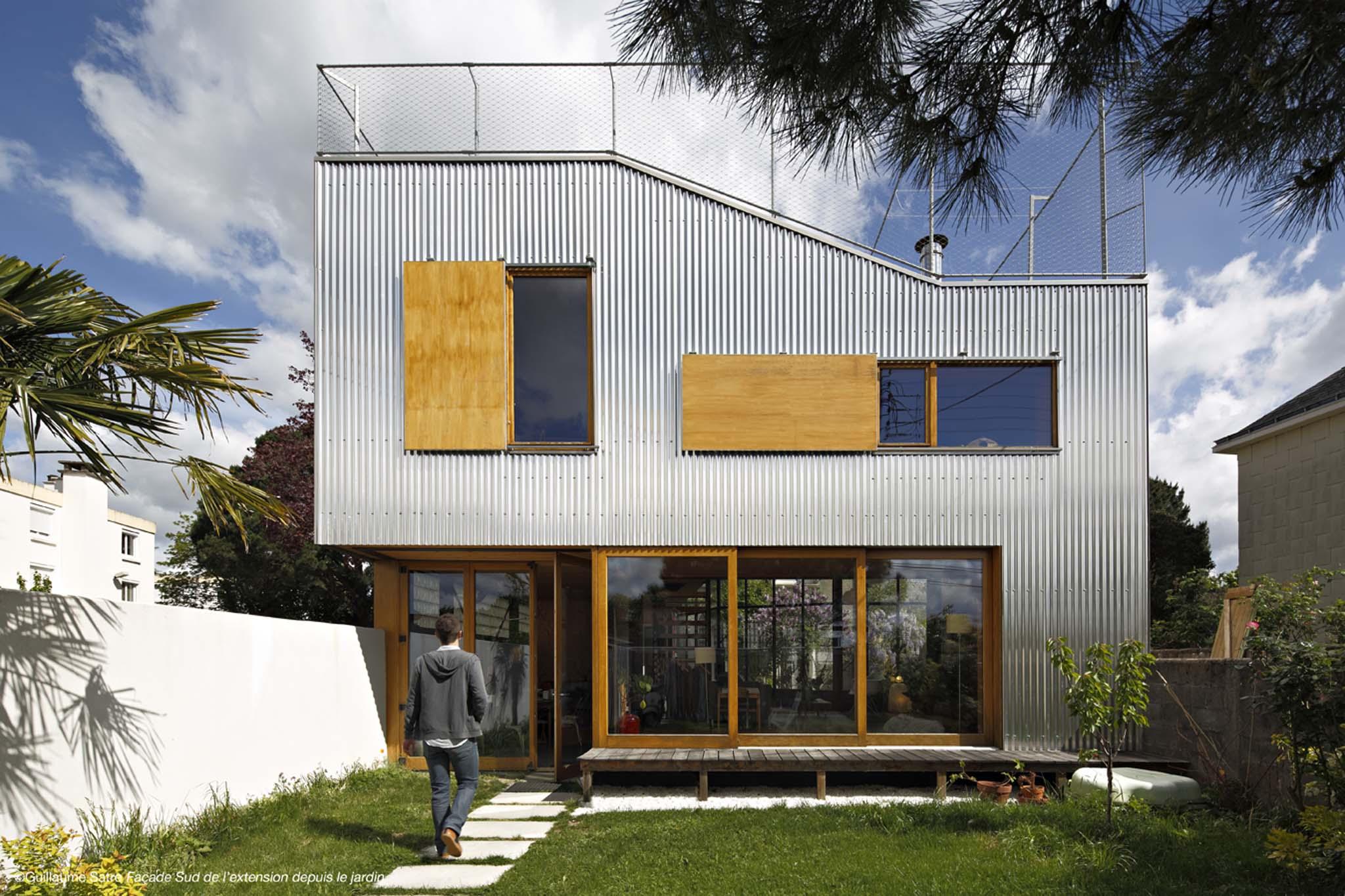 Maison nantes par mabire reich for Architecte nantes maison individuelle
