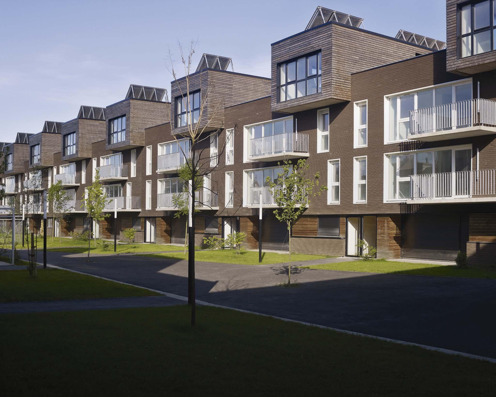Zigzag architecture 68 logements sociaux for O architecture lille