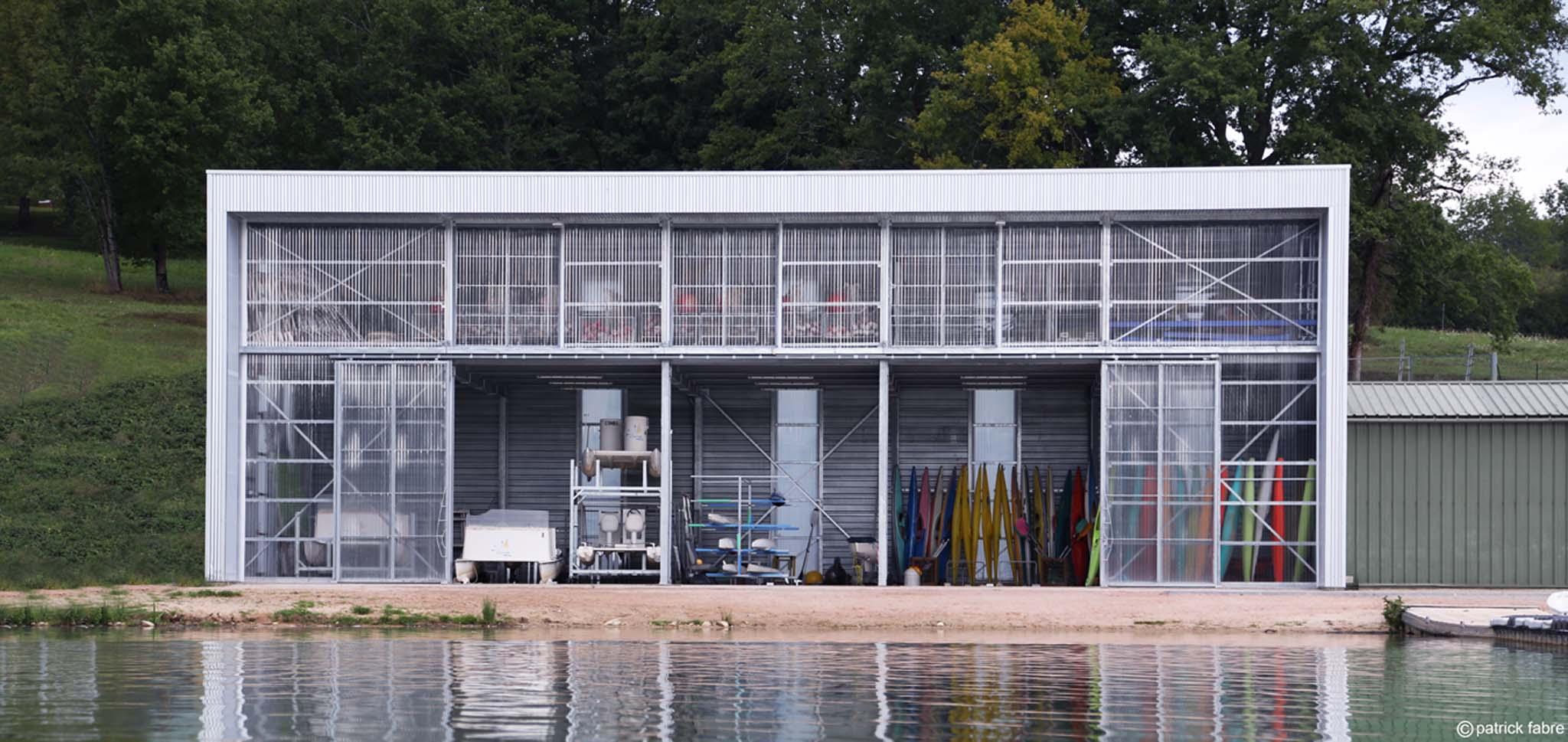 abri de stockage pour base de cano kayak par vincent trarieux. Black Bedroom Furniture Sets. Home Design Ideas
