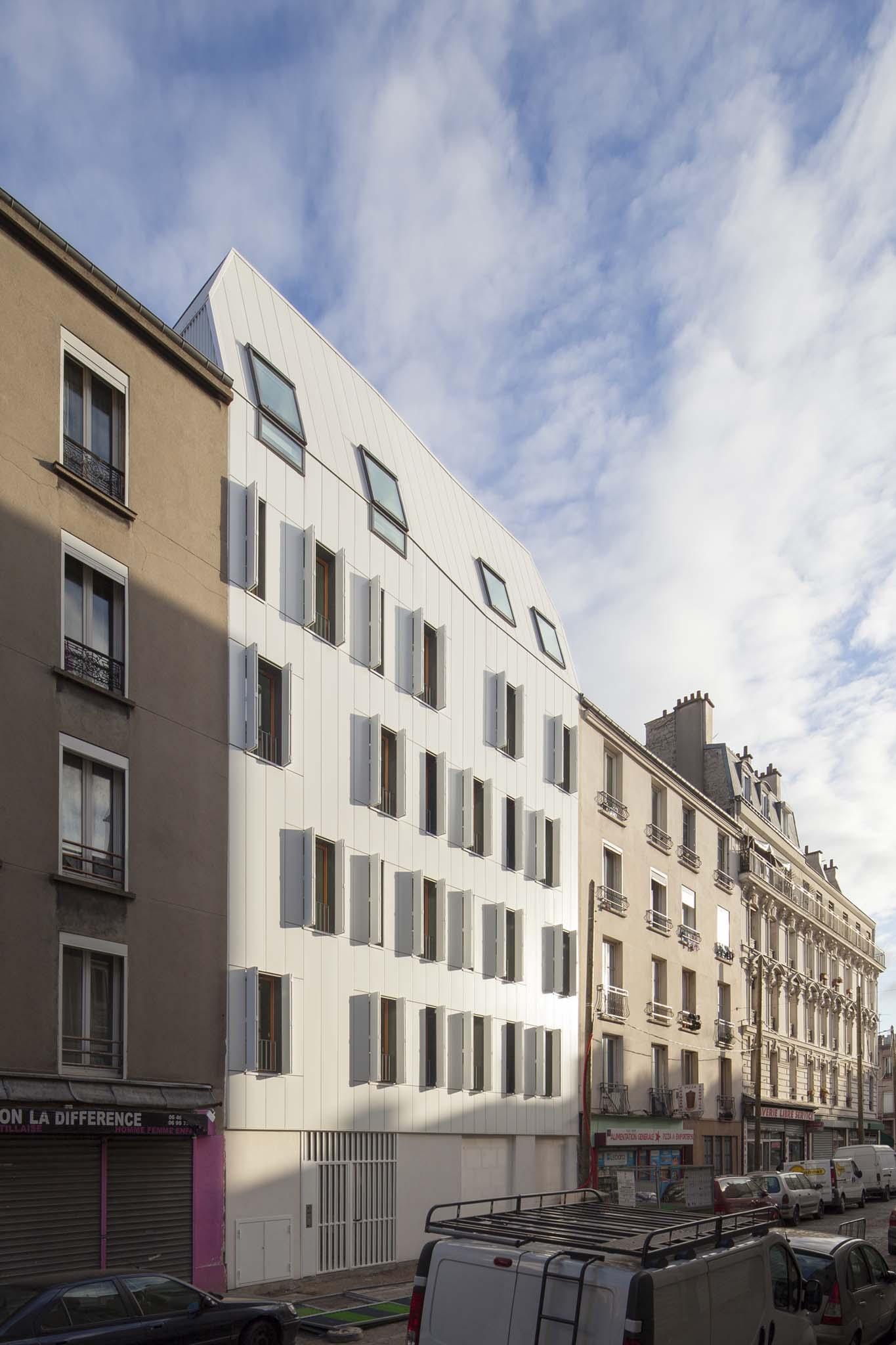 Jtb architecture 10 logements en structure bois saint denis - Plus logement definition ...
