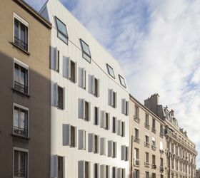 10 logements en structure bois, JTB architecture, Saint-Denis