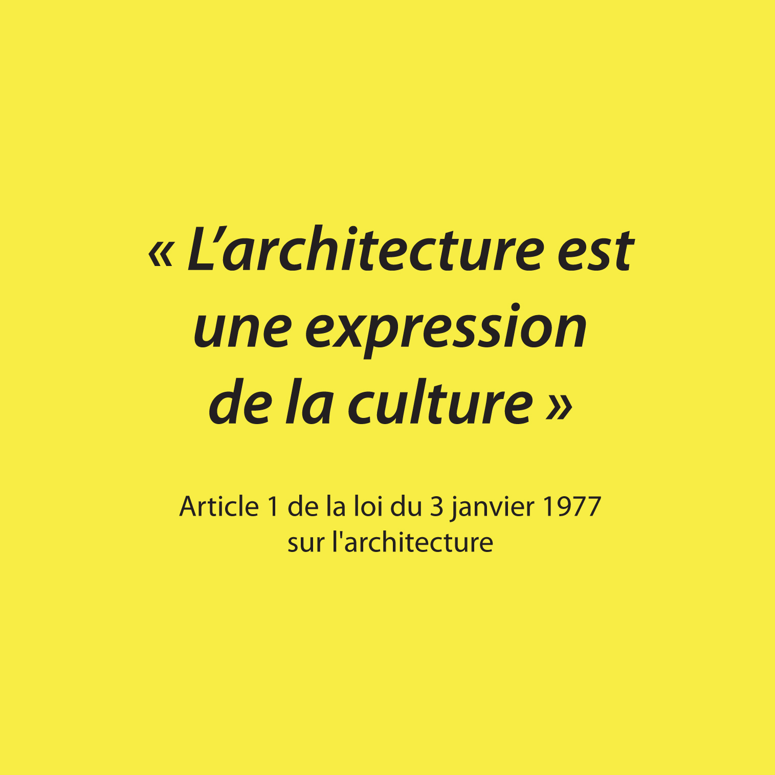 Liste Ordre Des Architectes la loi de 1977 en 4 points