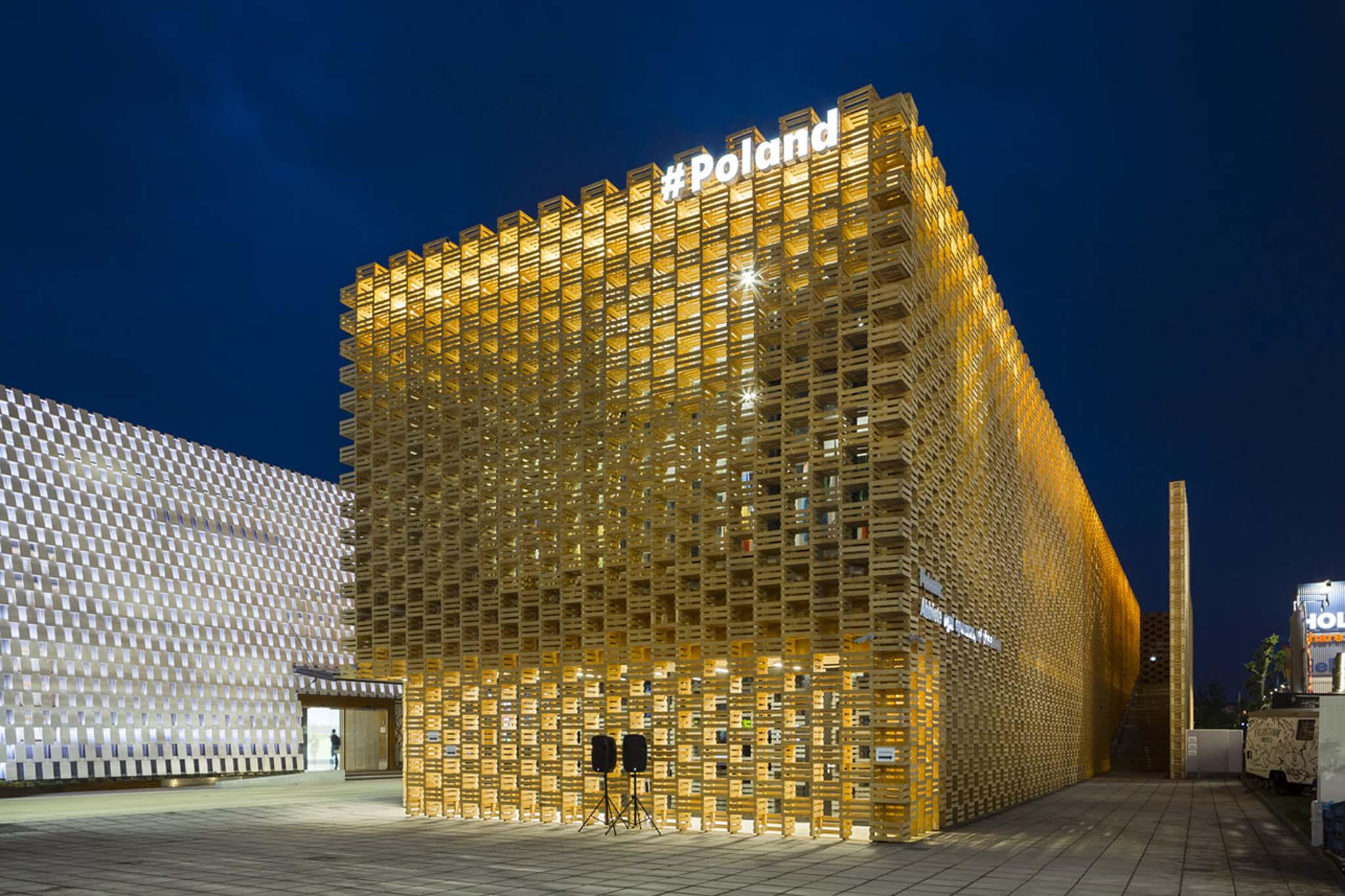 Stands Expo Universelle Milan : Exposition universelle de milan le pavillon la pologne