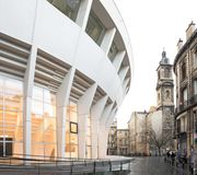Atelier Ferret Architectures - Palais des sports - Bordeaux