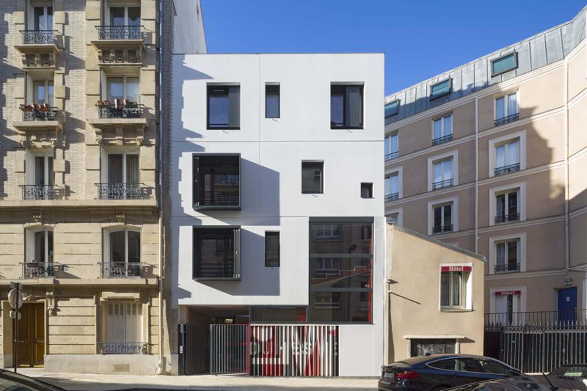 Virtuel Architecture 8 Logements Sociaux Paris