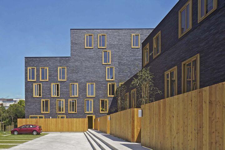 Premi re uvre 2012 nomm fres 23 logements sociaux for Fres architectes
