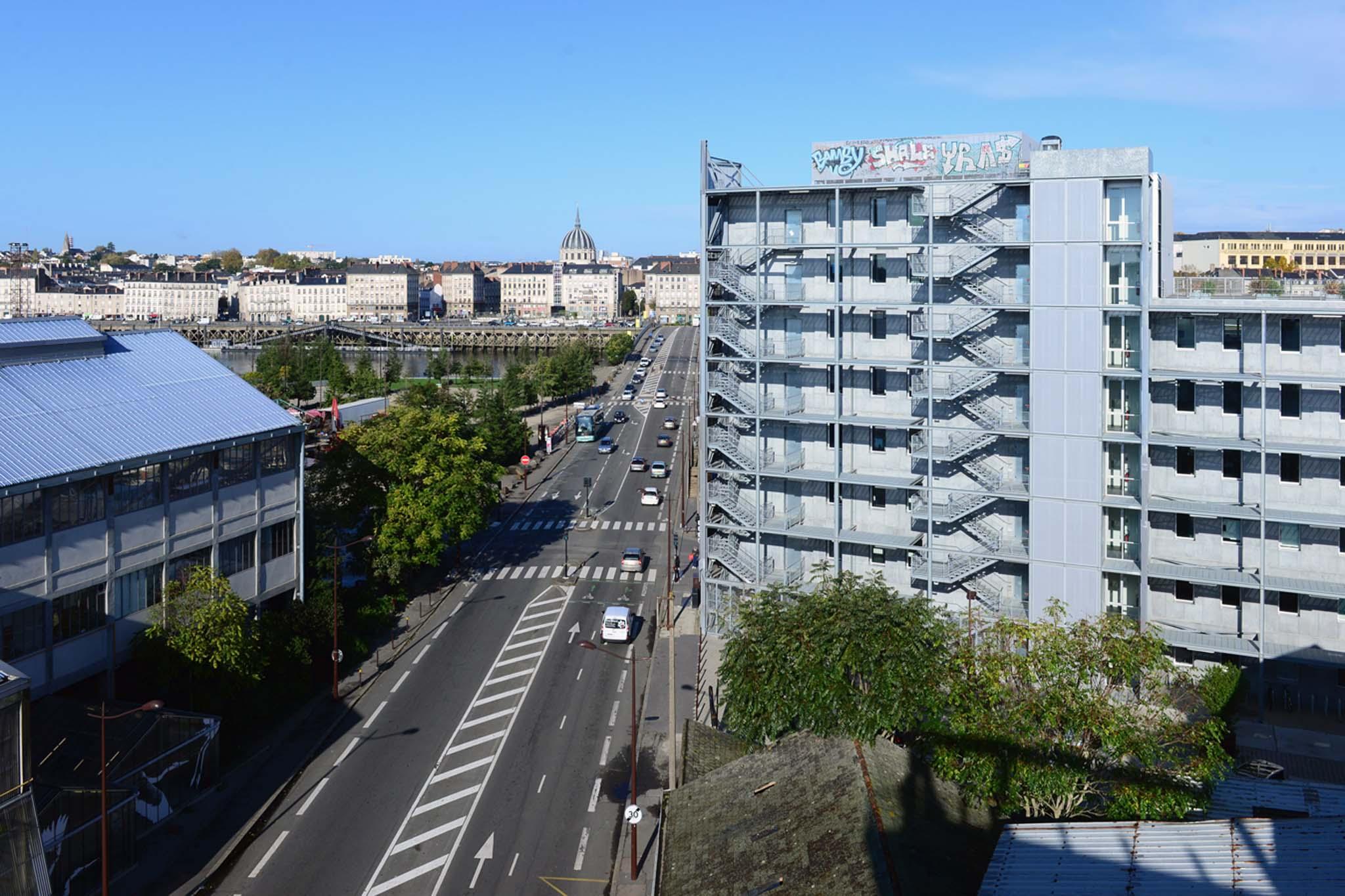 Etat initial du boulevard LonBureau par Aurelien Bory Nantes