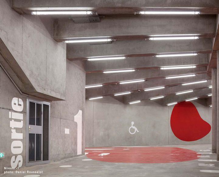 nomm l 39 equerre d 39 argent 2017 cat gorie ouvrage d 39 art parking et jardin paris xviie. Black Bedroom Furniture Sets. Home Design Ideas