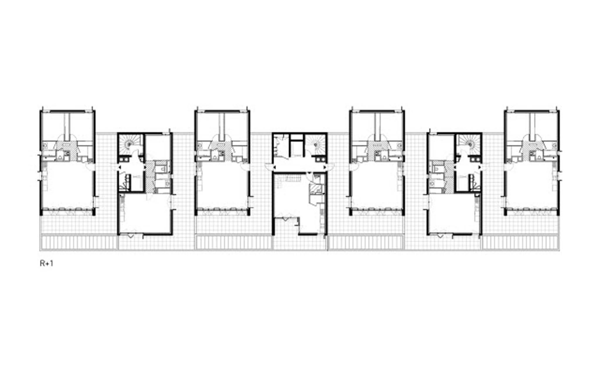 plan du r 1 39 logements cl ment verg ly lyon confluence querre d argent 2010 nomin. Black Bedroom Furniture Sets. Home Design Ideas