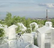 Mille arbres, Sou Fujimoto Architects et Manal Rachdi - OXO Architects, Réinventer Paris (XVIIe arr.)