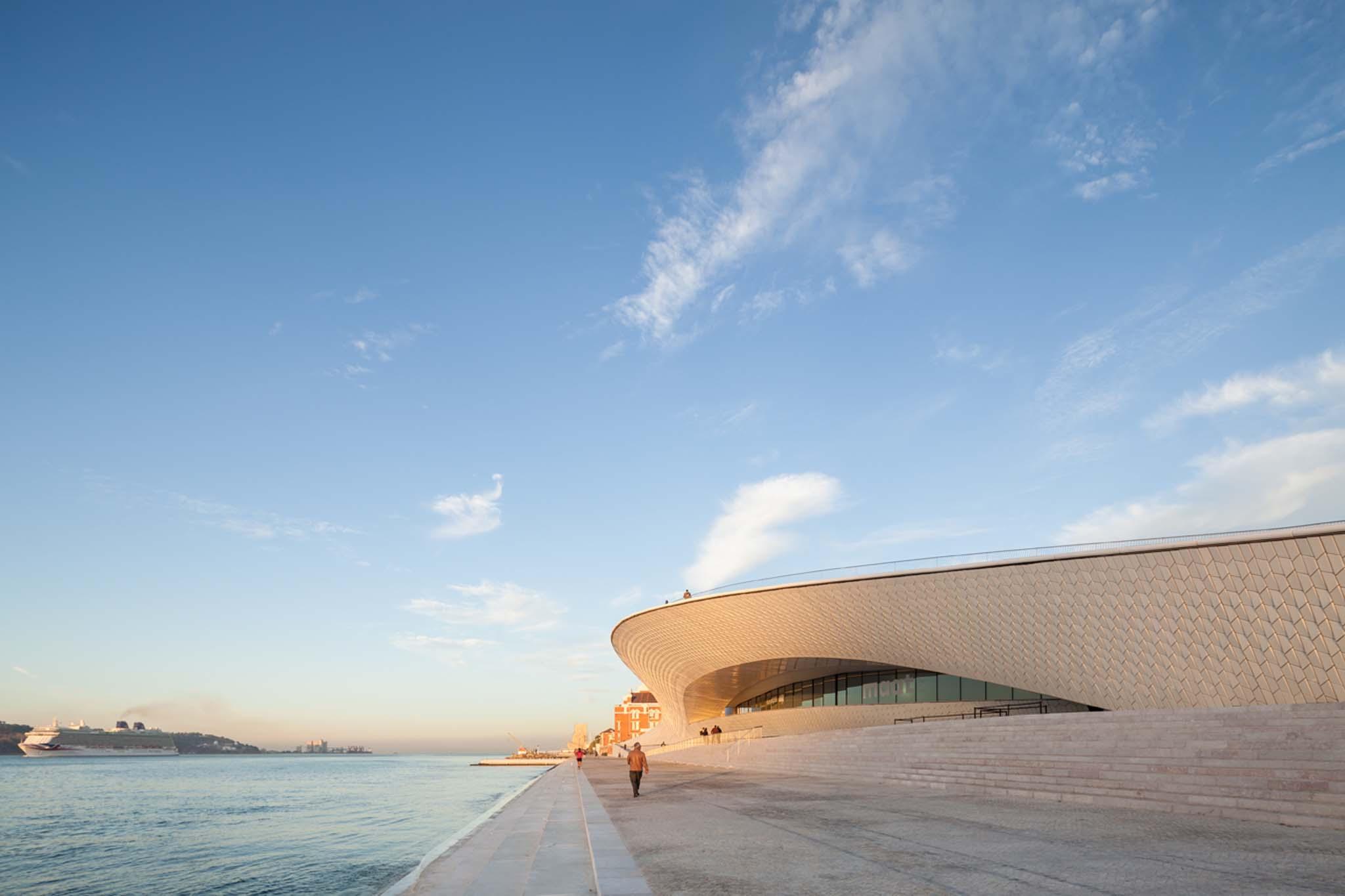 Le nouveau maat de lisbonne par al a for Architecture lisbonne