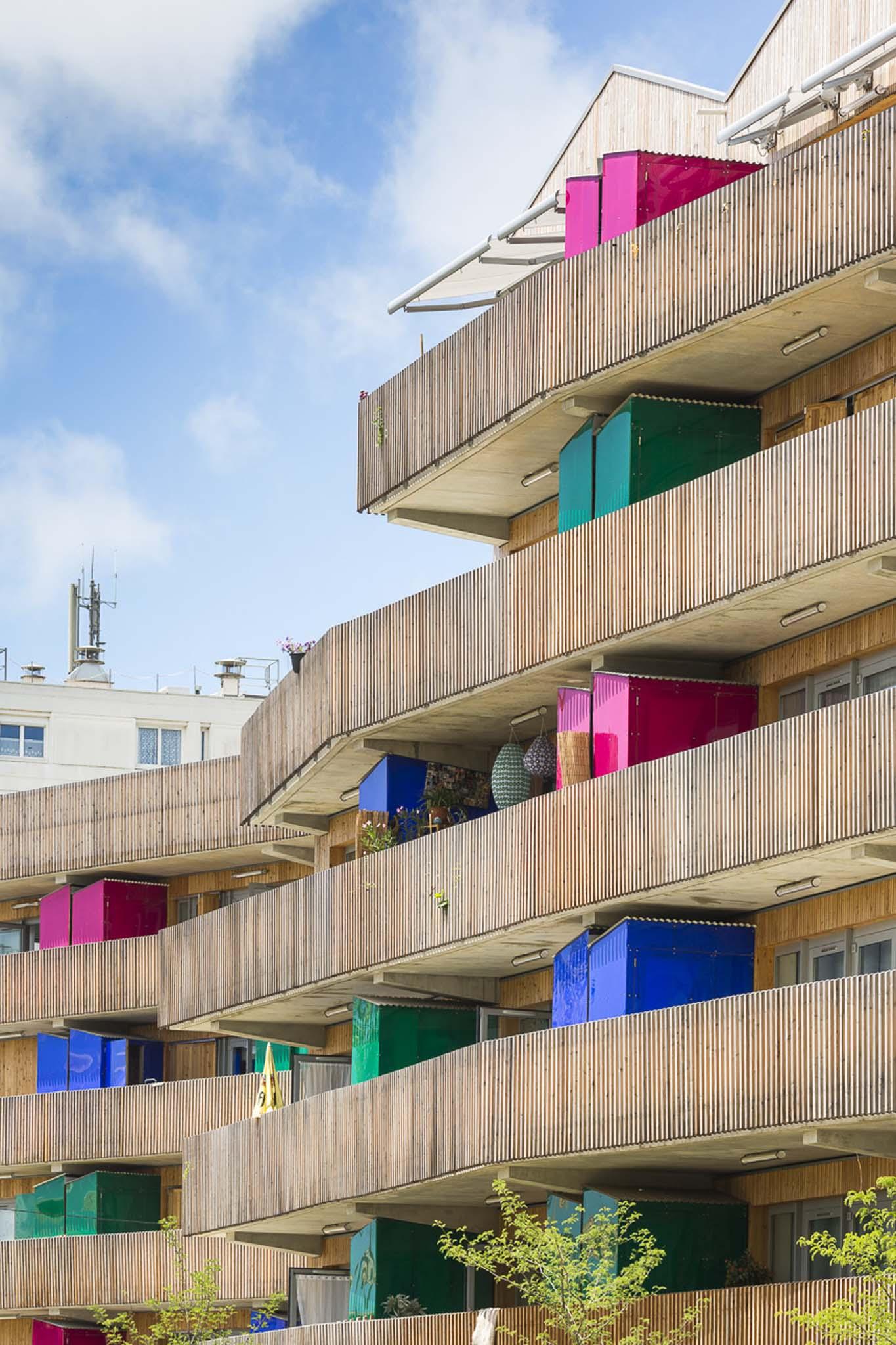 Guin e potin 64 logements collectifs aytr charente for Couleur resinence