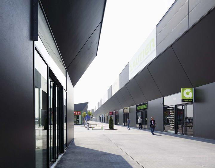 Scau architectes centre commercial for Architecte d interieur reims