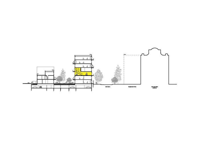 Sophie Delhay 53 logements et espaces partagés, sophie delhay architecte, lille